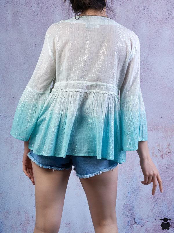 Camisas y camisetas boho chic baratas para mujer ▷ Oveja